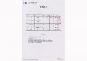 甲酸钙检测报告